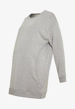 Sudadera - mottled grey