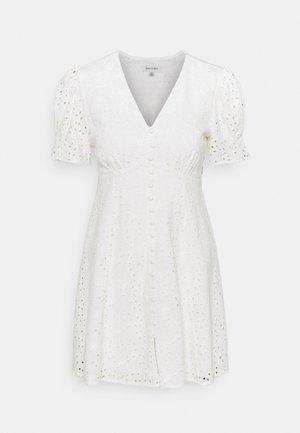SAFFRON MINI SUN DRESS - Day dress - porcelain