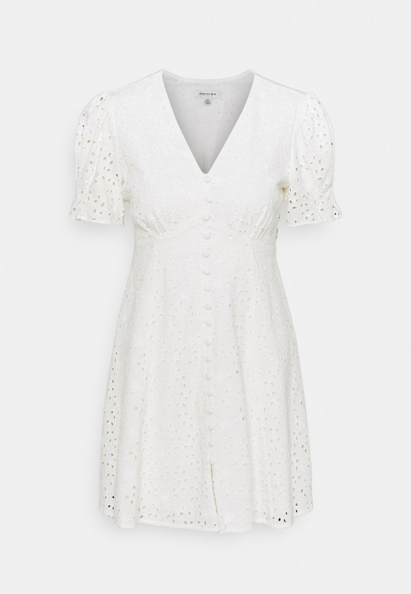 Forever New Petite - SAFFRON MINI SUN DRESS - Vapaa-ajan mekko - porcelain