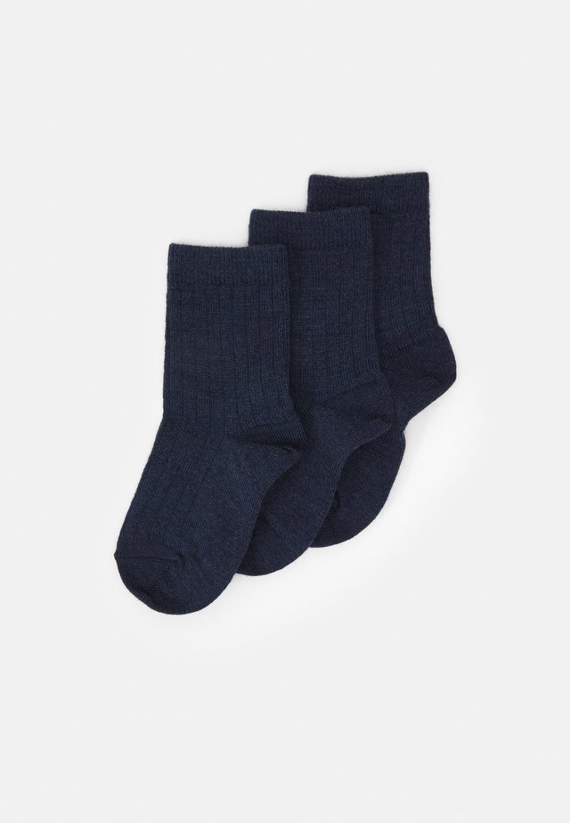 3 PACK - Socks - dark denim melange