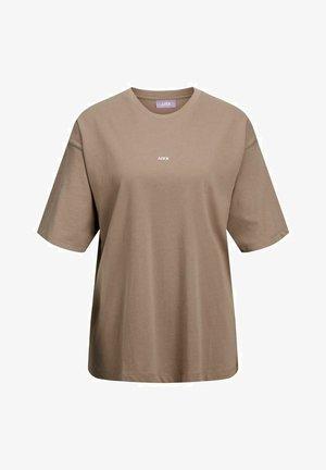 T-shirt basic - brindle