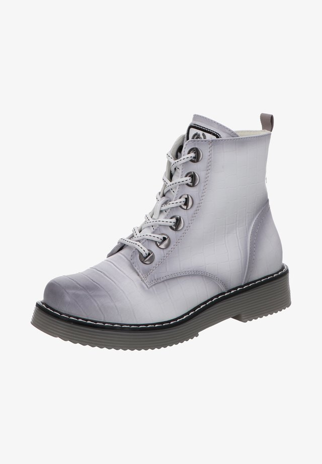 Lace-up ankle boots - wei