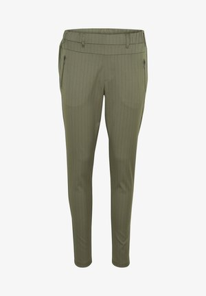 KAMARA VILJA - Pantalones - grape leaf  - black stripe