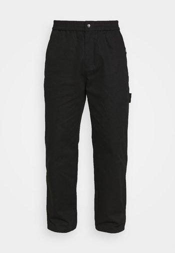 CARPENTER TROUERS - Trousers - black