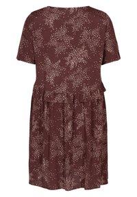 Zizzi - Day dress - red - 4