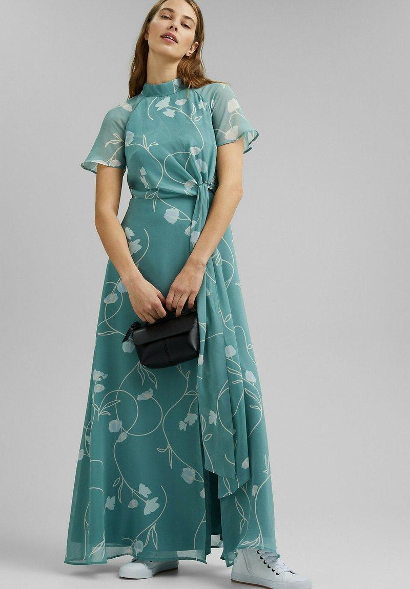 Esprit Collection - Maxi dress - dark turquoise