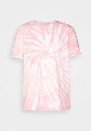 TUCKER TIE DYE CREW - Print T-shirt - light pink