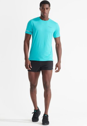 T-shirt imprimé - bright aqua
