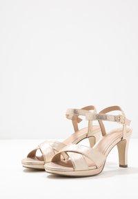 Menbur - High heeled sandals - stone - 4