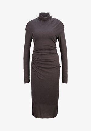 Maxi dress - charcoal melange