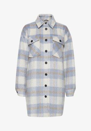 Wollmantel/klassischer Mantel - cashmere blue