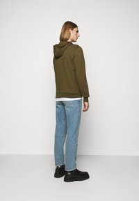PS Paul Smith - ZEBRA SOPO HOODIE - Hoodie - khaki - 2