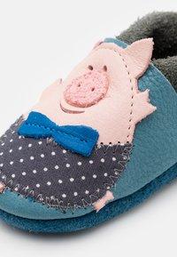 POLOLO - SCHWEINCHEN UNISEX - First shoes - blau - 5