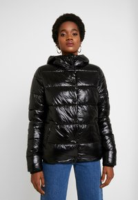 Superdry - HIGH SHINE TOYA PUFFER - Winter jacket - black - 0