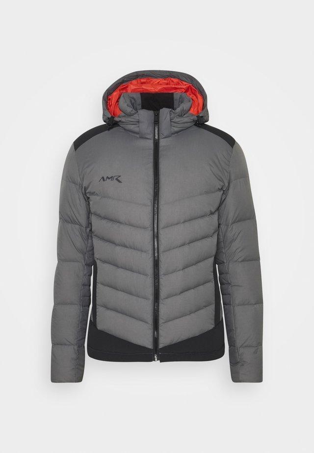 Gewatteerde jas - shade grey