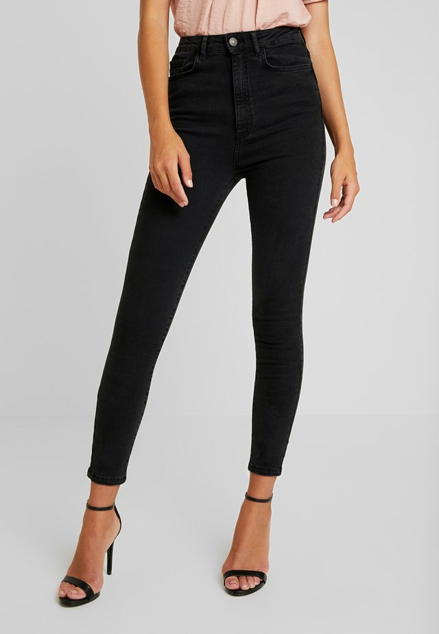 VMSANDRA - Jeansy Skinny Fit - black washed