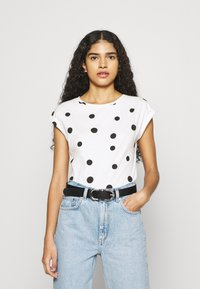 Dorothy Perkins - ROLL SLEEVE TEE 3 PACK - T-shirts - peach - 1