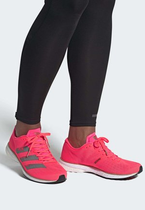 ADIZERO ADIOS 5 SHOES - Neutral running shoes - pink