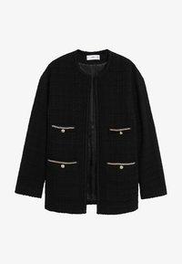 Mango - CANELA - Summer jacket - schwarz - 7