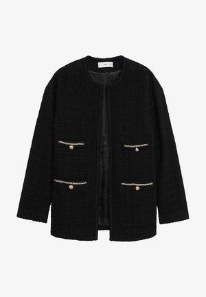CANELA - Summer jacket - schwarz