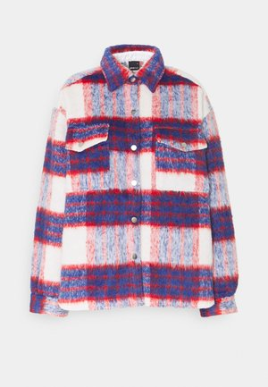 FANNY  JACKET - Summer jacket - red/blue