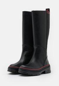 Timberland - MALYNN TALL BOOT WP - Boots - black - 2