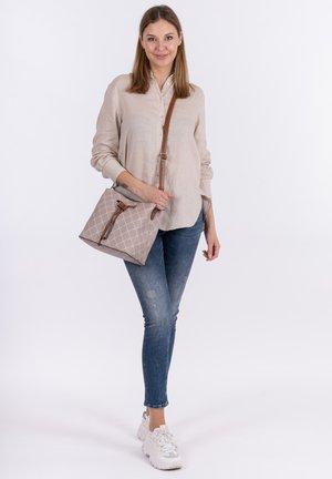 ANASTASIA - Handbag - taupe