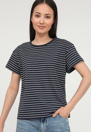 Print T-shirt - cosmic blue