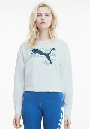 KVINNA - Sweatshirt - puma white