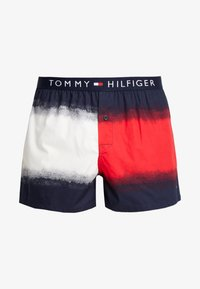 Tommy Hilfiger - DIP DYE FLAG - Boxer shorts - red - 3