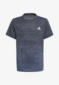 adidas Performance - AEROREADY GRADIENT T-SHIRT - Basic T-shirt - black - 0