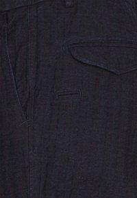 Mason's - EISENHOWER BUCKLE - Broek - blue - 2