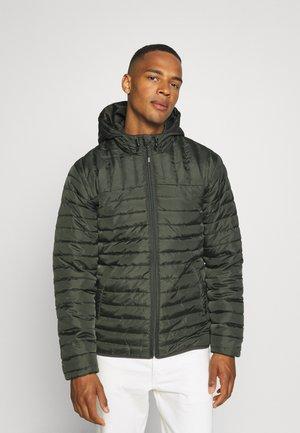 ONSPAUL QUILTED HOOD JACKET - Winter jacket - peat