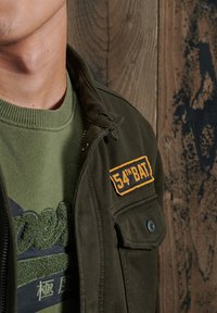 Superdry - Summer jacket - army green - 1