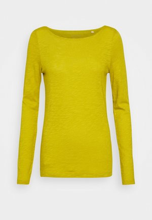 Long sleeved top - fresh pea