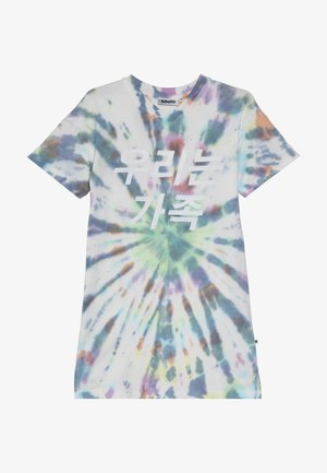 CARO - Jersey dress - multi tie dye