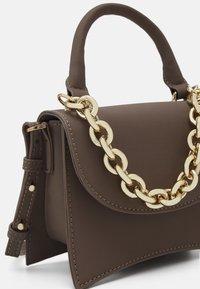 Topshop - MINI XBODY WITH CHAIN - Handbag - pale blue - 3