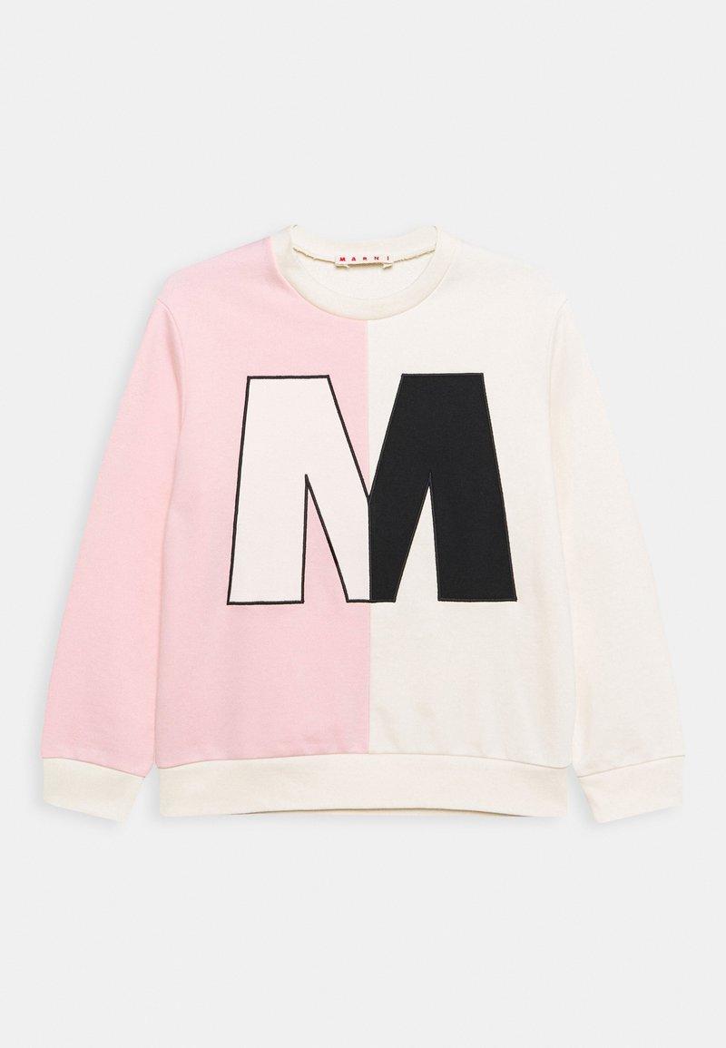 Marni - FELPA - Sweatshirt - quartz rose