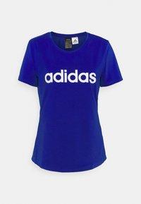 TEE - Print T-shirt - bold blue/white