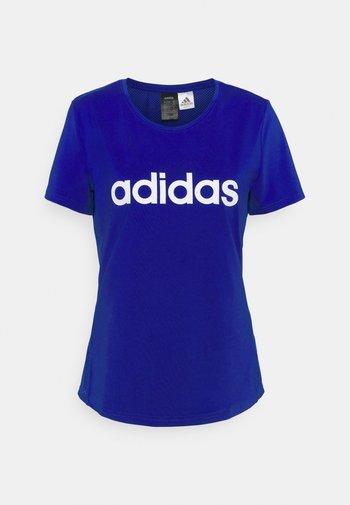 TEE - T-shirts med print - bold blue/white