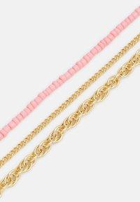 Pieces - PCFLORENNE COMBI NECKLACE - Necklace - gold-coloured/rose - 2