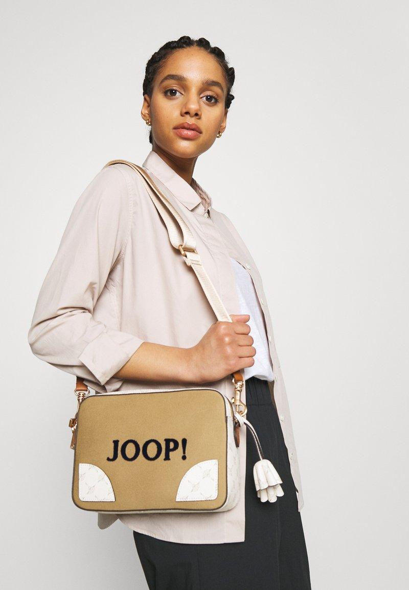 JOOP! - SONO NALA SHOULDERBAG - Across body bag - camel
