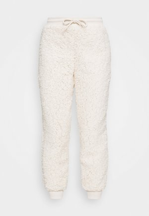 JOGGER - Tracksuit bottoms - cream