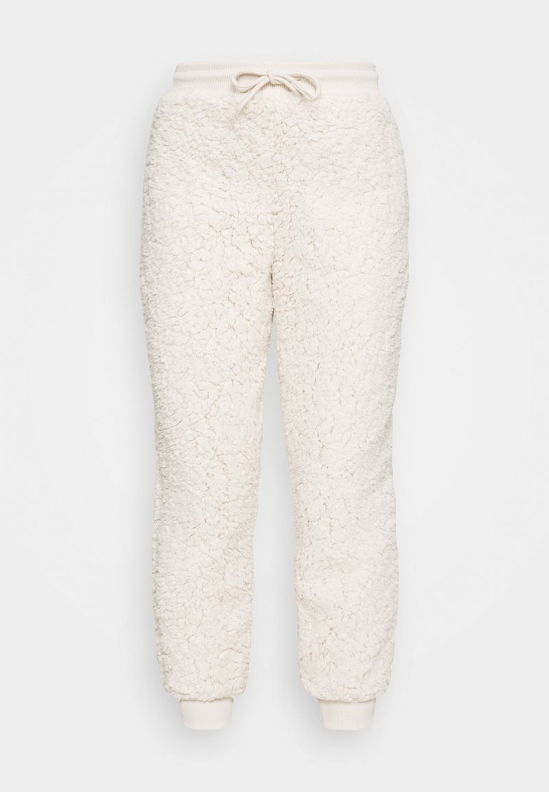 Miss Selfridge - JOGGER - Tracksuit bottoms - cream