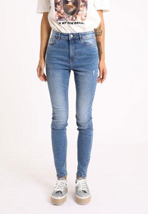 Jeans Skinny Fit - denimblau
