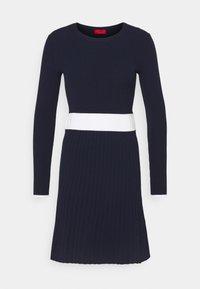 HUGO - SEAGERY - Jumper dress - open blue - 4