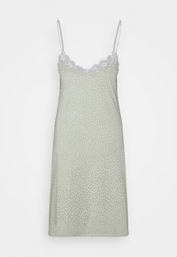 Lindex - NIGHT DRESS SLIP JOLO - Camicia da notte - dusty green - 1