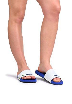 Sandales de bain - navy blue
