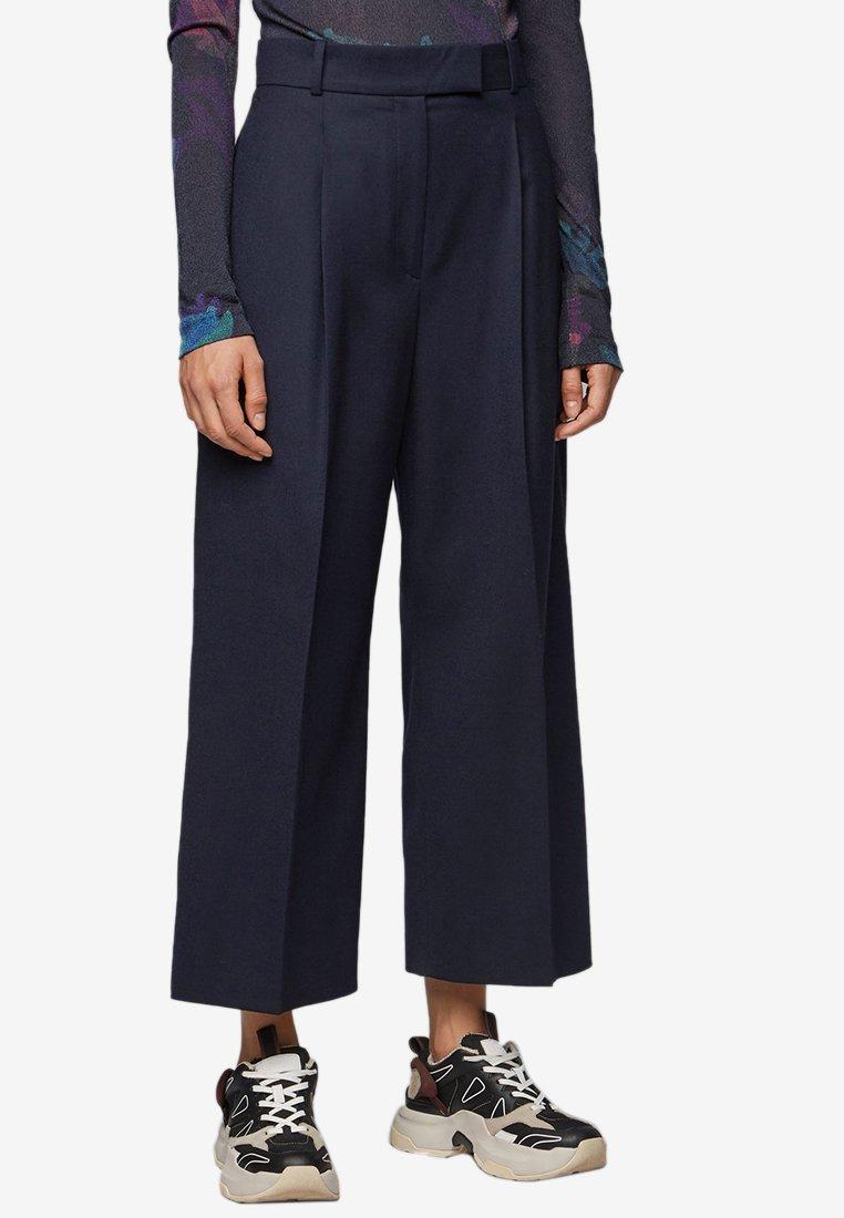 BOSS - TAYAMANA - Trousers - open blue