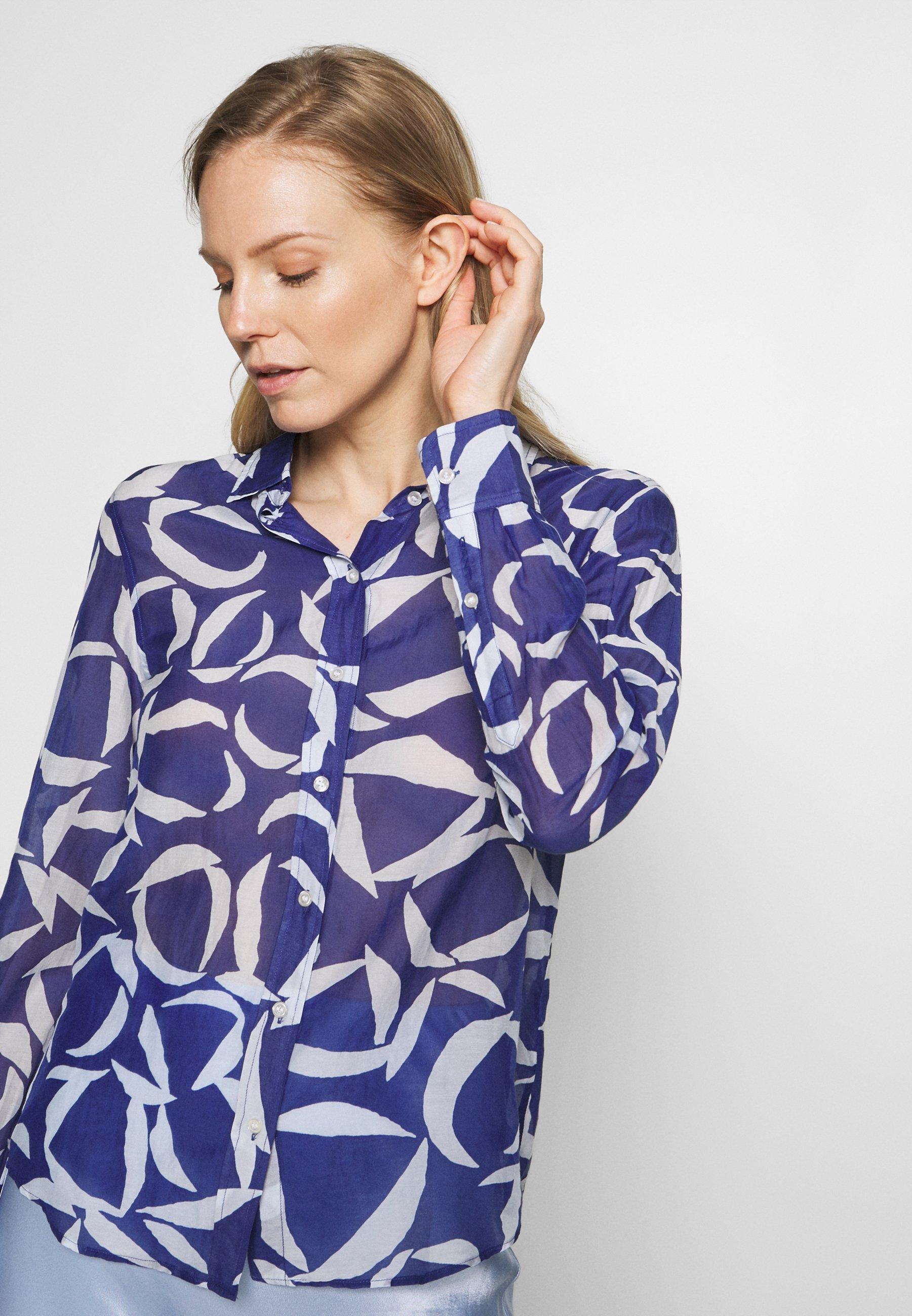 GANT CRESCENT BLOOM  - Skjorte - crisp blue